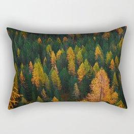 The Evergreens (Color) Rectangular Pillow