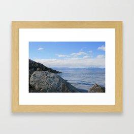 The Great Salt Lake, Utah Framed Art Print