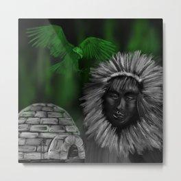Eskimo-man Metal Print