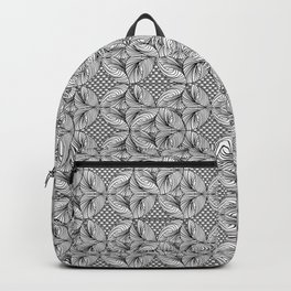 stripes in a ball . artwork Backpack