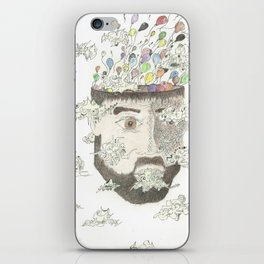 Head in the Clouds iPhone Skin