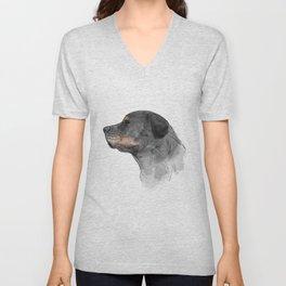Rottweiler Unisex V-Neck