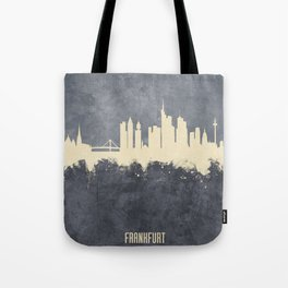 Frankfurt Germany Skyline Tote Bag