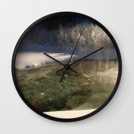 Waters Poetry Wall Clock