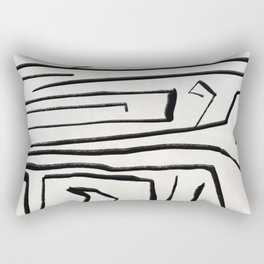Modern improvisation 02 Rectangular Pillow
