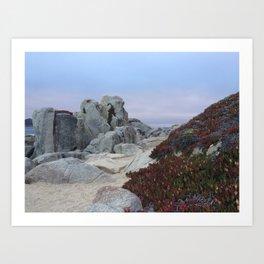 Carmel California Art Print