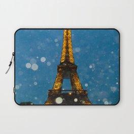 Eiffel Tower by Lika Ramai Laptop Sleeve