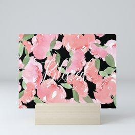 Blush Peony Blessed Mini Art Print