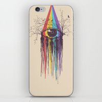 future iPhone & iPod Skins featuring Look into the Future by Norman Duenas
