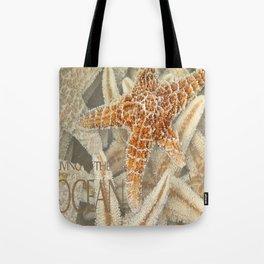 Living in the Ocean Tote Bag