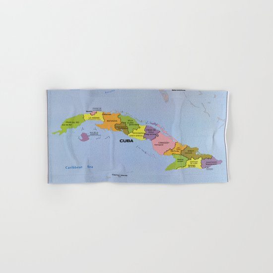 Map of Cuba, Cuban Administration Units (1986) by thearts