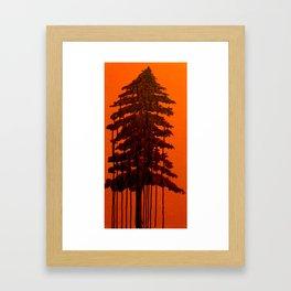 Retinal Burn #1  Framed Art Print