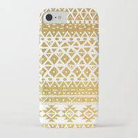 golden girls iPhone & iPod Cases featuring GOLDEN TRIBAL by Nika