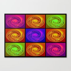 Abstract Collage Art Canvas Print