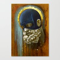 "hercules Canvas Prints featuring ""Masked Hercules"" by Bryan Lanier"