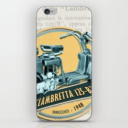 LAMBRETTA 125 B iPhone Skin
