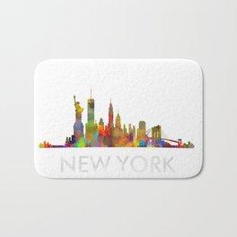 NY-New York Skyline HQ Bath Mat