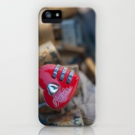 The Love Lock iPhone Case