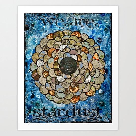 Stardust II Art Print