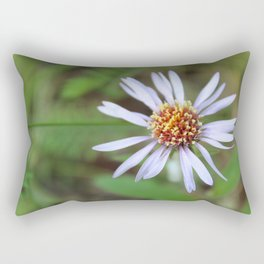 One Summer Arctic Aster Rectangular Pillow