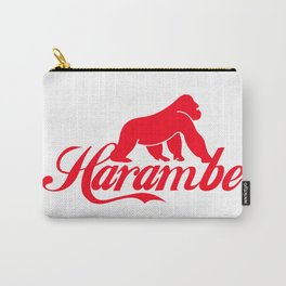 harambe the caring gorilla Carry-All Pouch