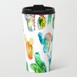 Cactus Rainbow Travel Mug