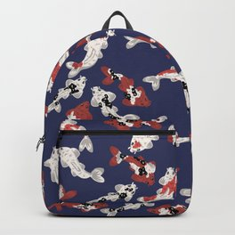 Koi pond #2 Backpack