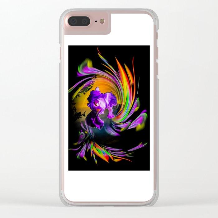 Fertile Imagination Clear iPhone Case