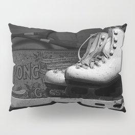 Vintge Skates-B&W Pillow Sham