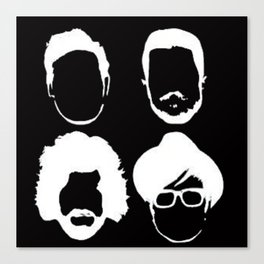 Fob Silhouettes Canvas Print