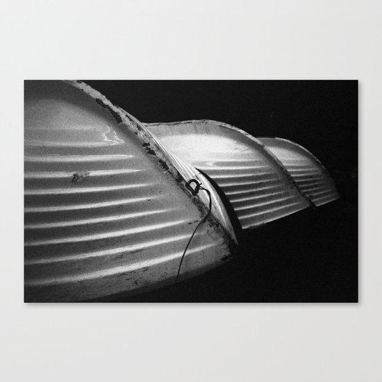 Row Boats 1 Canvas Print