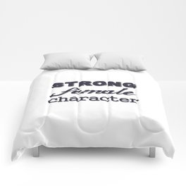 Strong Female Character Comforters