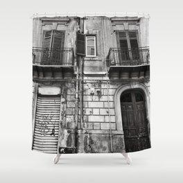 ABANDONED SICILIAN SOUND Shower Curtain