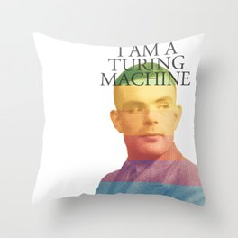 I am a Turing Machine Throw Pillow