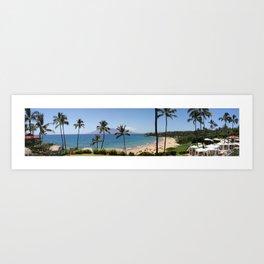 Maui Panorama Art Print
