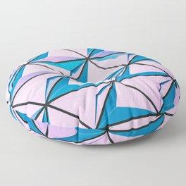 Pattern blue purple Floor Pillow