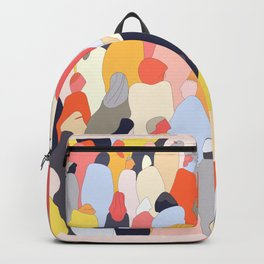 Crowded Backpack