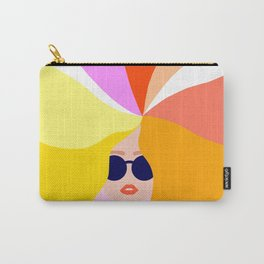 Girl Power - Rainbow Hair #girlpower Carry-All Pouch
