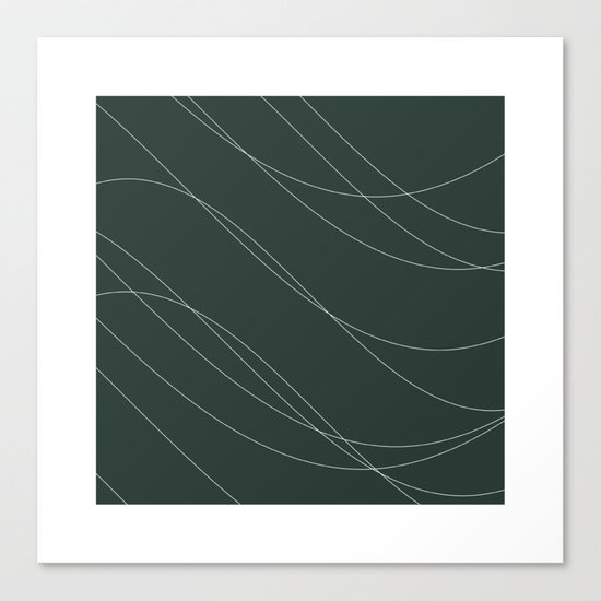#239 Avalanche – Geometry Daily Canvas Print