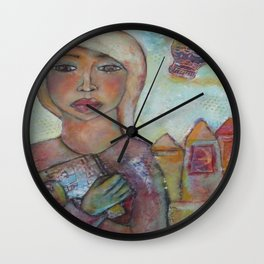 Adventures await Wall Clock