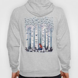 The Birches (in Blue) Hoody