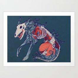 Void Hound Art Print