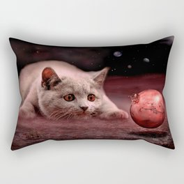 Mouse on Mars Rectangular Pillow