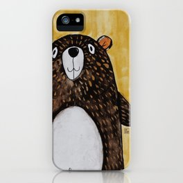 Mr. Bear iPhone Case