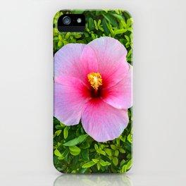 Flower Bloom Pink iPhone Case