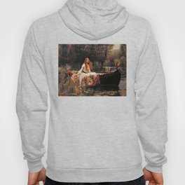 The Lady of Shallot - John William Waterhouse Hoody
