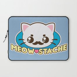 Meow-Stache Laptop Sleeve