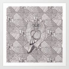 Spot the Love Birds Art Print