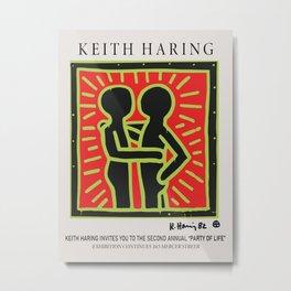 Keith Art, Exhibition Poster,  Metal Print