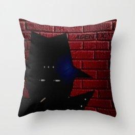 AGENT X. Throw Pillow